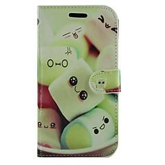 Na Samsung Galaxy Etui Portfel / Etui na karty / Z podpórką / Flip / Wzór Kılıf Futerał Kılıf Kreskówka Skóra PU Samsung Grand