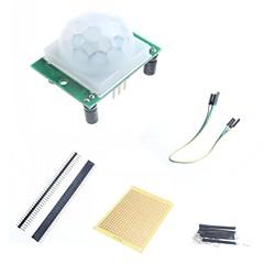 お買い得  センサー-arduinoのための人体の赤外線センサモジュールとフィッティング