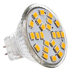 GU4(MR11) LED Spotlight 24 leds SMD 2835 Warm White Cold White 230lm 3500/6000K AC 12V