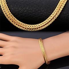 preiswerte Armbänder-Damen Kubikzirkonia Ketten- & Glieder-Armbänder - Zirkon, vergoldet Armbänder Golden Für Weihnachts Geschenke Hochzeit Party
