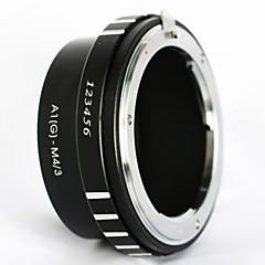 Bajonet Nikon F g af-s af objektivu Micro 4/3 M43 adaptér e-PL6 e M1 om-d gh4 gf6