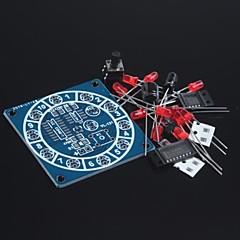 abordables Kits de Bricolaje-rueda electrónica del kit fortuna / kits electrónicos diversión / dados electrónicos / producción electrónica de bricolaje