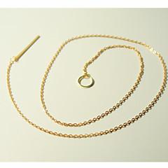 preiswerte Halsketten-Damen Lasso Y Halskette - Bar & Kreis Grundlegend, Modisch, Normallänge Silber, Golden Modische Halsketten 1pc Für Party, Alltag, Normal