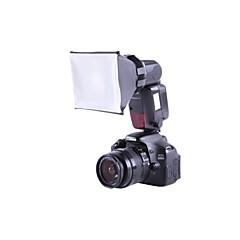 universella mini studio mjuk låda flash diffusor xtsbfd för Canon Nikon SB-800/900 Sony Olympus externa blixtar