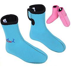Χαμηλού Κόστους -divesail 3 χιλιοστά νεοπρένιο παιδιά χειμώνα κάλτσες βουτιά ψαροντούφεκο καταδύσεις μπότες στολή του πλανήτη αντιολισθητικά παπούτσια για