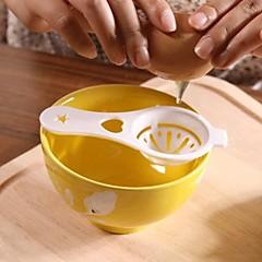 abordables Liquidación-Herramientas de cocina El plastico Cocina creativa Gadget Espumadera para huevo