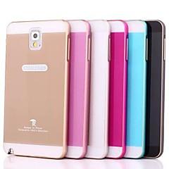 Mert Samsung Galaxy Note tokok Other Hátlap Case Egyszínű Akril mert Samsung Note 3