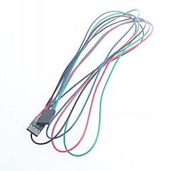 baratos -70 centímetros fêmea de 4 pinos - feminino linha DuPont cabo de ligação directa para arduino