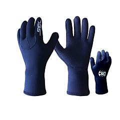Mănuși Diving Bărbați Pentru femei Unisex Keep Warm Rezistent la Vânt Rezistent la Ultraviolete Izolate Purtabil Anti-derapare 3mmÎnot