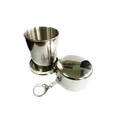 Camping Cup Single Collapsible Aluminium Alloy for Camping & Hiking Outdoor