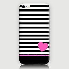 Для Кейс для iPhone 6 / Кейс для iPhone 6 Plus С узором Кейс для Задняя крышка Кейс для Полосы / волосы Твердый PCiPhone 6s Plus/6 Plus /