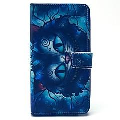 billige Galaxy Note 3 Etuier-Etui Til Samsung Galaxy Samsung Galaxy Note Kortholder Pung Med stativ Flip Fuldt etui Tegneserie PU Læder for Note 4 Note 3
