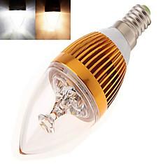 저렴한 LED 전구-350 lm E14 LED 캔들 조명 LED가 고성능 LED 따뜻한 화이트 차가운 화이트 AC 85-265V