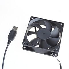 お買い得  アクセサリー-ファン5Vの冷却8センチメートルサイレントファン/コンピュータサーバシャーシ