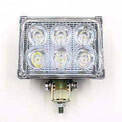 abordables Iluminación para Vehículos Industriales-Coche Bombillas 18W 1200lm 6 Luz de Trabajo
