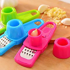 többfunkciós fokhagyma-daráló (véletlenszerű szín) 1db konyhai eszköz