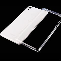 Для Кейс для Sony Ультратонкий / Прозрачный Кейс для Задняя крышка Кейс для Один цвет Мягкий TPU для SonySony Xperia Z3+ / Z4 / Sony
