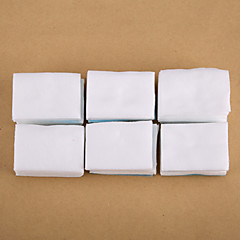 500PCS White Nail Polish Remover Cotton Nail Art Clean Cotton Nail Tips Remover Pads Manicure Tools