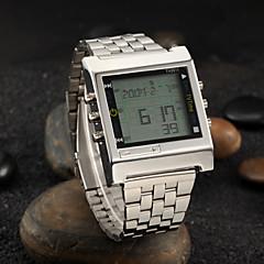 Men's Watch Dress Watch Calendar LED Alarm TV Remote Control Function Wrist Watch Cool Watch Unique Watch Fashion Watch
