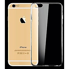 cheap BUY MORE SAVE MORE-Case For Apple iPhone X / iPhone 8 / iPhone 8 Plus Ultra-thin / Transparent Back Cover Solid Colored Soft Silicone for iPhone X / iPhone 8 Plus / iPhone 8