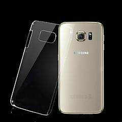 Para Funda Samsung Galaxy Transparente Funda Cubierta Trasera Funda Un Color Policarbonato Samsung S6