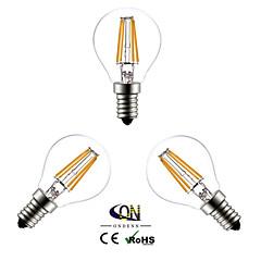 preiswerte LED-Birnen-e14 led glühbirnen g45 4 cob 400lm warmweiß 2800-3200k ac 220-240 v