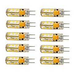 1.5W G4 LED Corn Lights T 24 SMD 3014 120 lm Warm White Cold White 2800-3000/6000-6500 K AC 12 V