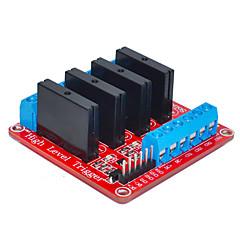 cztery dla Arduino przekaźnika półprzewodnikowego (czerwony)