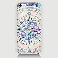 Для Кейс для iPhone 6 / Кейс для iPhone 6 Plus С узором Кейс для Задняя крышка Кейс для Геометрический рисунок Твердый PCiPhone 6s Plus/6