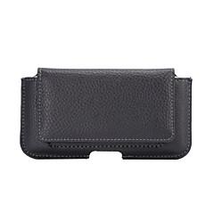 Недорогие Универсальные чехлы и сумочки-Кейс для Назначение iPhone 6s Plus iPhone 6 Plus iPhone 6s iPhone 6 универсальный Бумажник для карт Кошелек Чехол Сплошной цвет Мягкий