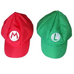 Hats Halloween Carnival Festival/Holiday Halloween Costumes Red Green