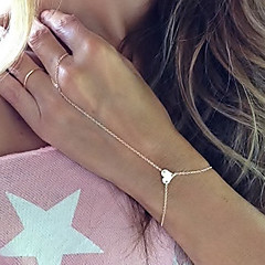 Dame Ring Bracelets La modă costum de bijuterii Aliaj Iubire Bijuterii Pentru Petrecere Zilnic Cadouri de Crăciun