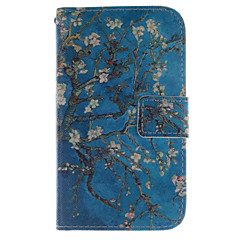 For LG Case Wallet / Card Holder / with Stand / Flip Case Full Body Case Tree Hard PU Leather LG