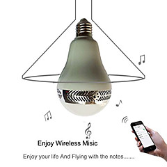 ywxlight® led globe ampoules lm k bluetooth rechargeable dimmable télécommandé 85-265v