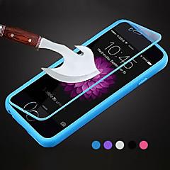 Недорогие Кейсы для iPhone 5-Кейс для Назначение iPhone 5 Apple Кейс для iPhone 5 Флип Прозрачный Чехол Сплошной цвет Мягкий ТПУ для iPhone SE/5s iPhone 5