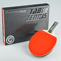 winmax® 1 szt 4 gwiazdki długa rękojeść do tenisa stołowego z kolorowym opakowaniu