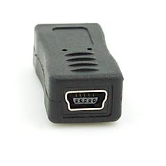 preiswerte Kabel & Adapter-Micro-USB-2.0-Stecker auf Mini USB 2.0 Buchse Konverter-Anschluss-Stecker-Adapter