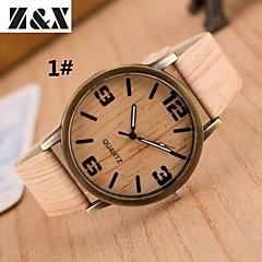 preiswerte Tolle Angebote auf Uhren-Damen Armbanduhr Quartz Schlussverkauf Leder Band Analog Retro Streifen Modisch Mehrfarbig - 4 # 5 # 6 #