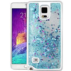 tanie Galaxy Note 4 Etui / Pokrowce-wysokiej jakości gwiazda Quicksand brokat pc twarde etui do Samsung Galaxy Note 4