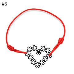 お買い得  ブレスレット-女性用 ストランドブレスレット  -  ハート, 幸福 ブレスレット 8 # / 9 # / 10 # 用途 パーティー 日常 カジュアル