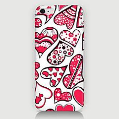 Для Кейс для iPhone 6 / Кейс для iPhone 6 Plus С узором Кейс для Задняя крышка Кейс для С сердцем Твердый PCiPhone 6s Plus/6 Plus /