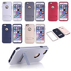 Недорогие Кейсы для iPhone 6 Plus-Кейс для Назначение Apple iPhone 6 Ультратонкий для Apple