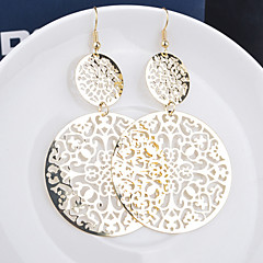 Women's Drop Earrings Statement Jewelry Personalized European Costume Jewelry Alloy Leaf Jewelry For Wedding Party Special Occasion Daily
