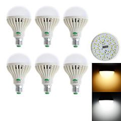 お買い得  LED 電球-850-900 lm E26/E27 LEDボール型電球 G60 28 LEDの SMD 3528 装飾用 温白色 クールホワイト AC85-265V