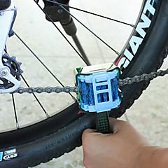 abordables ACACIA-Cepillo para Limpieza de Cadena Portátil Ciclismo Recreacional / Bicicleta de Piñón Fijo / Bicicleta de Montaña PE Verde