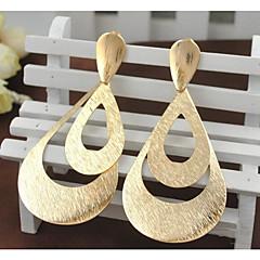 preiswerte Ohrringe-Damen Tropfen-Ohrringe - vergoldet Modisch, Erklärung Gold / Farbbildschirm Für