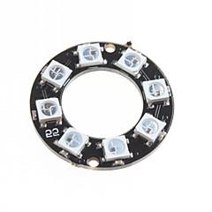 hesapli -ws2812 5050 rgb akıllı tam renkli rgb ışık halkası geliştirme kurulu açtı