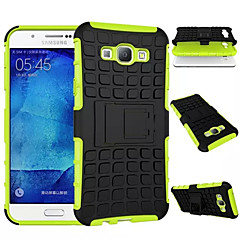 billige Galaxy A3 Etuier-For Samsung Galaxy etui Stødsikker Med stativ Etui Bagcover Etui Armeret PC for Samsung A8 A7 A5 A3