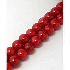 Beads - Coral 38cm/str -
