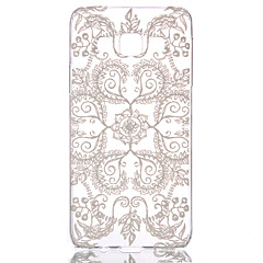 billige Galaxy A3 Etuier-For Samsung Galaxy etui Transparent Mønster Etui Bagcover Etui blondedesign PC for Samsung A3